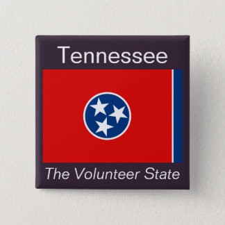Tennesseean Flag Button