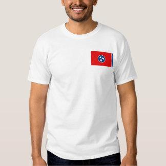 Tennesseean Flag + Map T-Shirt