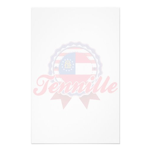 Tennille, GA Customized Stationery