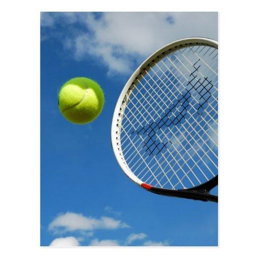 tennis3 post card