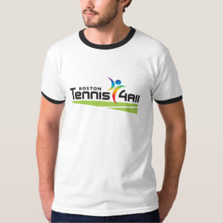 Tennis4All Ringer T-shirt