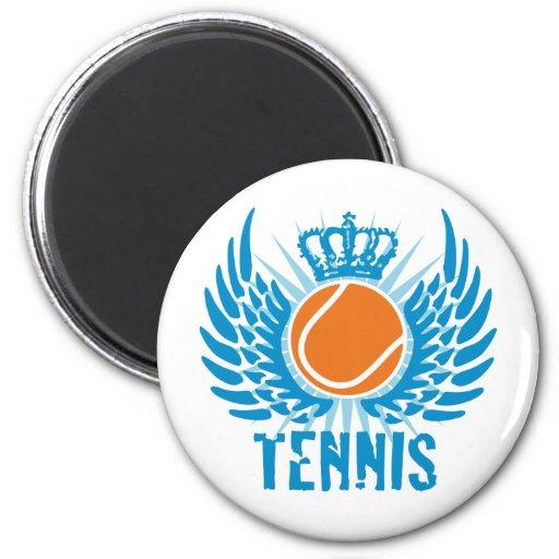 tennis 2 inch round magnet