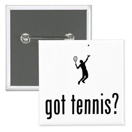 Tennis 2 Inch Square Button