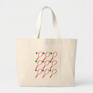 Tennis 2 large tote bag