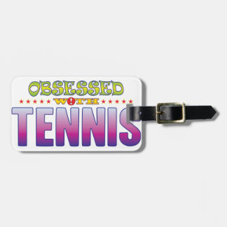 Tennis 2 Obsessed Bag Tag