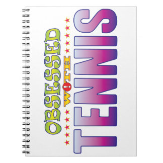 Tennis 2 Obsessed Spiral Note Book