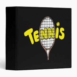 Tennis 3 Ring Binder