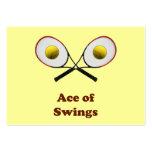 Tennis Ace of Swings Business Card