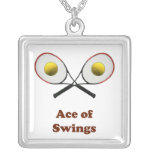 Tennis Ace of Swings Necklaces