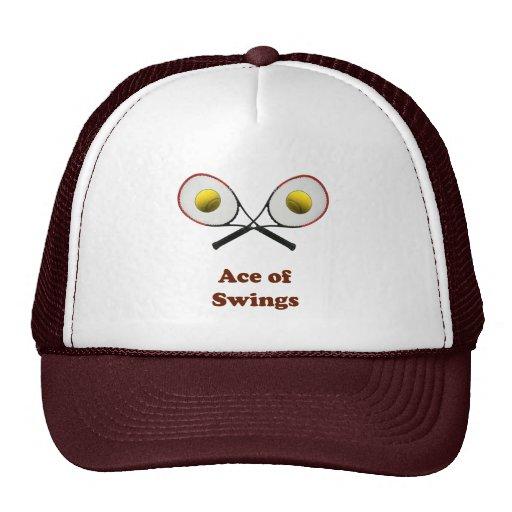 Tennis Ace of Swings Trucker Hats