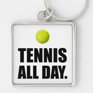 Tennis All Dat Keychain