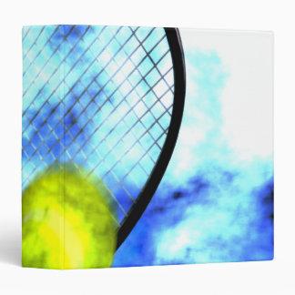 Tennis All Day Grunge Style Binder