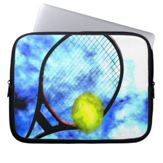 Tennis All Day Grunge Style Laptop Sleeve