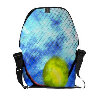 Tennis All Day Grunge Style Messenger Bag