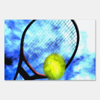 Tennis All Day Grunge Style Sign