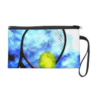 Tennis All Day Grunge Style Wristlet