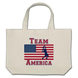 Tennis American Flag Team America Bags