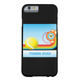 Tennis and Rainbow Stripe TENNIS Star Barely There iPhone 6 Case