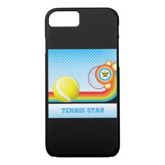 Tennis and Rainbow Stripe TENNIS Star iPhone 8/7 Case