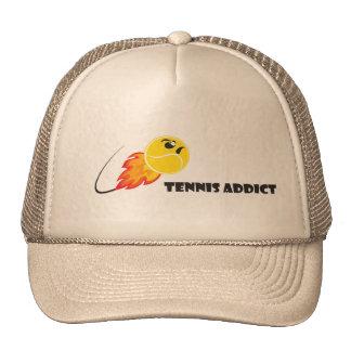 Tennis angry ball trucker hat