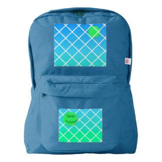 Tennis Anyone? American Apparel™ Backpack