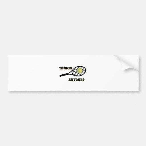 Tennis Anyone? Bumper Stickers