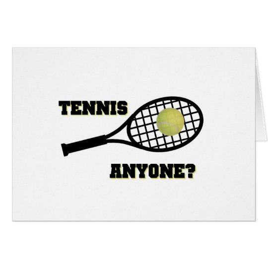 Tennis Anyone? Card