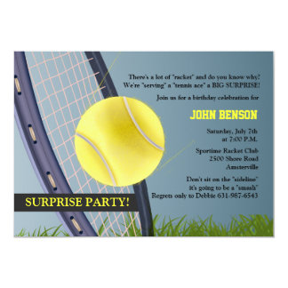Tennis Anyone? Invitation