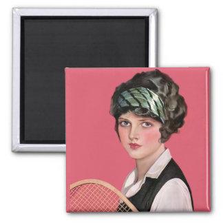 Tennis Anyone Fridge Magnets