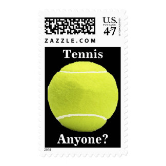 Tennis, Anyone? Postage Stamps