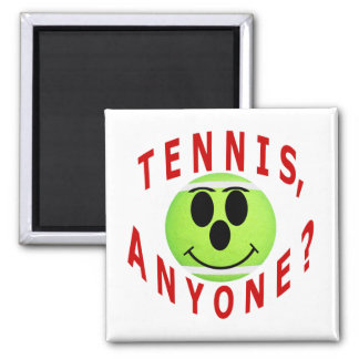 Tennis, Anyone? T-Shirts and Gifts 2 Inch Square Magnet