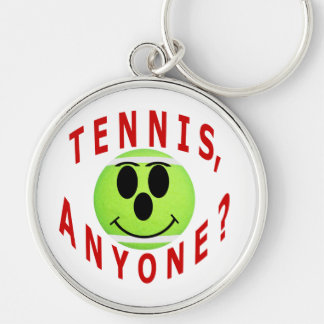 Tennis, Anyone? T-Shirts and Gifts Keychain