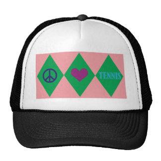 Tennis Argyle Trucker Hat