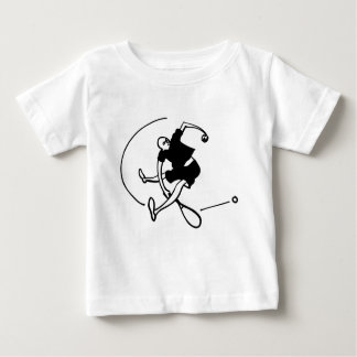 Tennis Art by Kyle T. Webster Baby T-Shirt