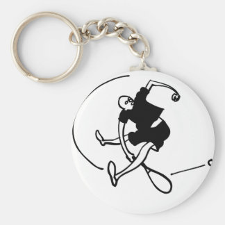 Tennis Art by Kyle T. Webster Keychain