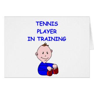 TENNIS baby Card