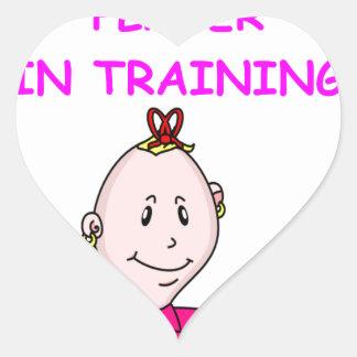 TENNIS baby Heart Sticker