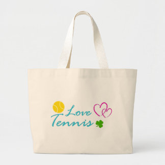 tennis baby kids sports mon dad clothes girl boy large tote bag