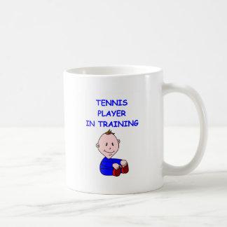 TENNIS baby Classic White Coffee Mug