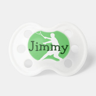 Tennis baby pacifier soother binkie dummy