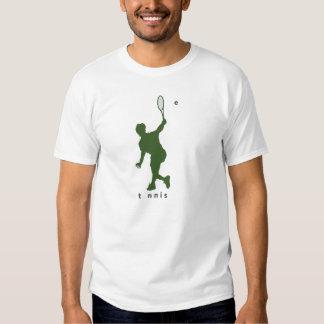Tennis backhand shot tshirts