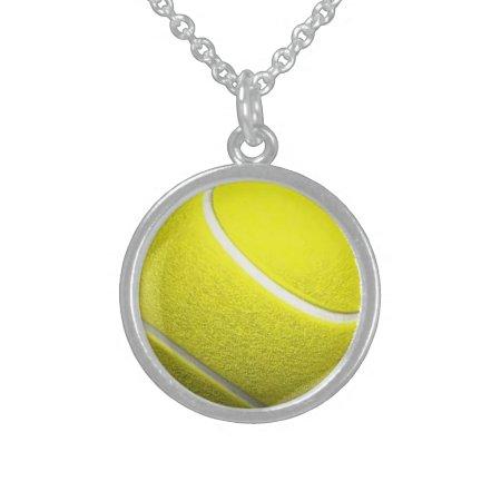 Tennis Ball Necklace