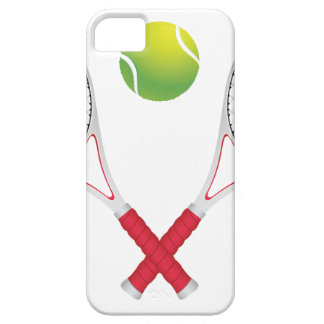 Tennis Ball and Racket2 iPhone SE/5/5s Case