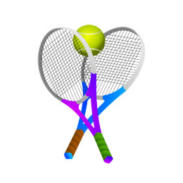 Tennis Ball And Rackets Cake Pan