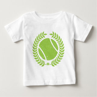 Tennis Ball and tennis Team Vintage design Baby T-Shirt
