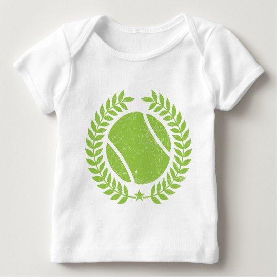 Tennis Ball and tennis Team Vintage design Baby T-Shirt