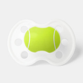 Tennis Ball Baby Pacifier for Young Tennis Fans!