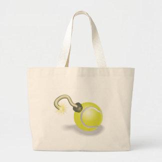 Tennis ball bomb concept bags