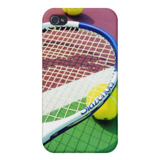 Tennis ball bright pink green iPhone cover case Case For iPhone 4