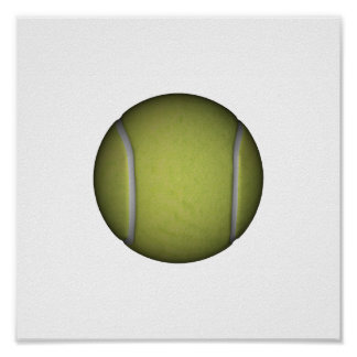 Tennis Ball by SRF Poster